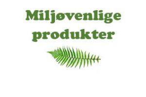 Miljøvenlig merchandise